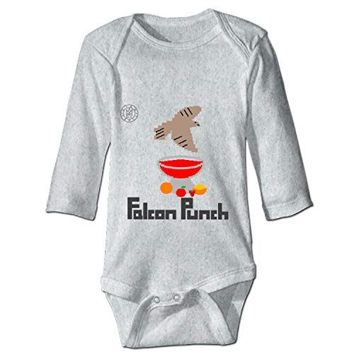 Falcon Punch Infant Baby Boys Girls Clothing Shirts Long Sleeves Rompers Jumpsuit