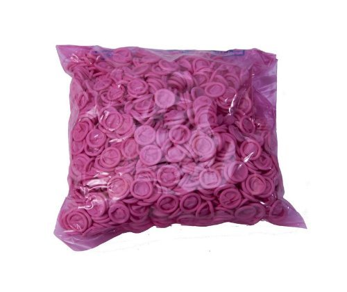 Bertech ESD Finger Cots, Pink Color, 4 Mil Thick, Large (Pack of 1440) - Case of 10 Bags by Bertech (Image #1)