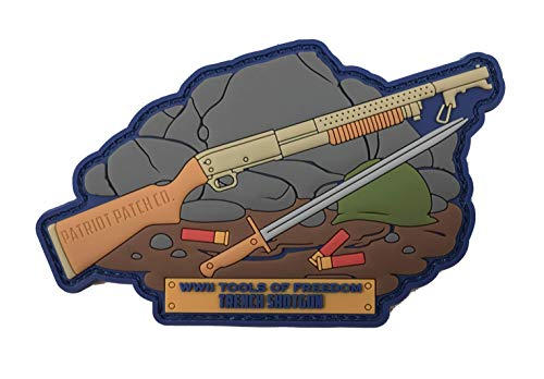 - Patriot Patch Co - WWII Historical Gun Patches (M37 Trench Shotgun)