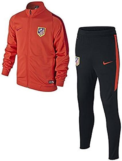 Nike - Chándal de niños Atlético de Madrid 2015-2016: Amazon.es ...