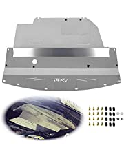 ELITEWILL Silver Aluminum Under Tray Skid Plate Engine Splash Shield Guard Fit for Nissan 350Z & Infiniti G35 and G35 Coupe