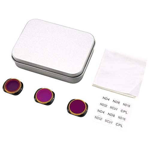 Wikiwand Filter Lens for OSMO Pocket 3PC ND4-PL+ND8-PL+ND16-PL Camera Lens Filters by Wikiwand (Image #8)