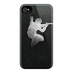 New Bivillegas Super Strong Counter Strike Tpu Case Cover For Iphone 4/4s