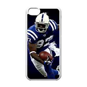 Indianapolis Colts iPhone 5c Cell Phone Case White 218y3-109701