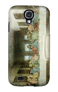 S0173 Leonardo Da Vinci The Last Supper Case Cover for Samsung Galaxy S4