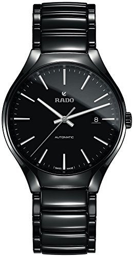 Rado R27056152 True Automatic Mens Watch - Black Dial