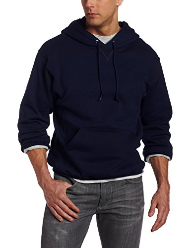 Russell Athletic Men's Dri-Power Pullover Fleece Hoodie, New Navy, XX-Large