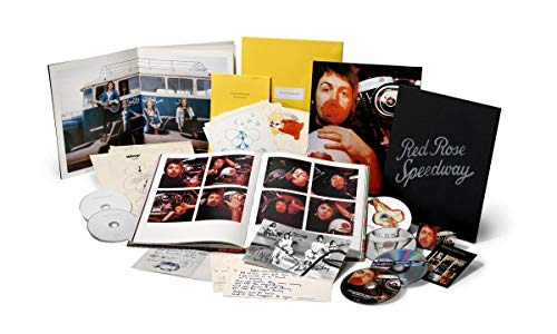 Red Rose Speedway [Deluxe Box Set][3 CD + 2 DVD + - Music Book 2 Archive