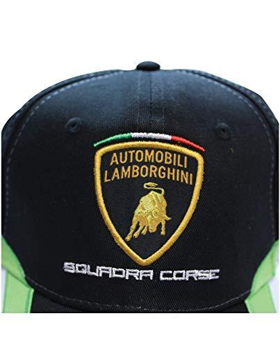 Lamborghini Kid's Squadra Corse Cap, Black by LAMBORGHINI (Image #3)