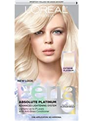 L'Oréal Paris Feria Multi-Faceted Shimmering Permanent Hair Color, Extreme Platinum (1 Kit) Hair Dye