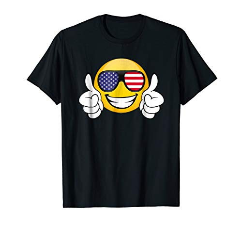 roud American citizens US flag type tee ()