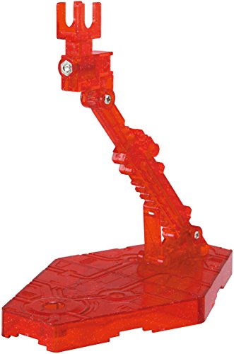 Bandai Hobby Action Base 2 Display Stand , Sparkle Red