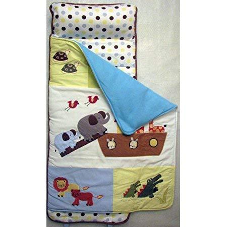 SoHo Toddler Nap Mat Rollable, Colorful Noah Ark
