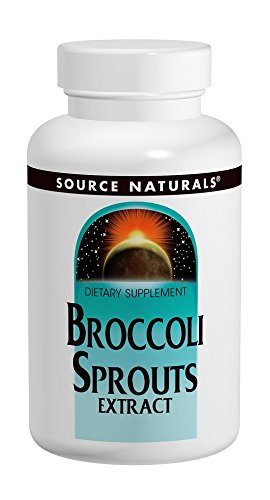 Source Naturals Broccoli Sprouts Extract 250mg Powerful Superfood Supplement, Source of Sulforaphane, Fiber & Calcium - Support Healthy Bones, Liver & Immune - Younger Looking Skin - 120 Tablets (Naturals 120 Tabs Mcg Source)