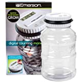 EMERSON DIGITAL COIN-COUNTING MONEY JAR [Office Product]