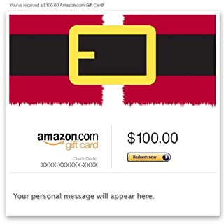 Amazon Gift Card - Email - Merry Christmas (Santa's Coat) (B00A42ZESC) | Amazon price tracker / tracking, Amazon price history charts, Amazon price watches, Amazon price drop alerts