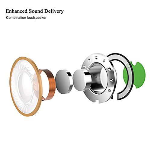Earphones,HaRuion Earbuds,Headphones,In Ear Earphones,Ear buds Wired with Mic for Apple Iphone 6S Plus/Samsung Galaxy S9 Edge 8/Huawei/LG/Blackberry Mobile Devobile Device MP3 Music Player Ios Android by HaRuion (Image #3)