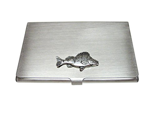 Perch Fish Business Card Holder