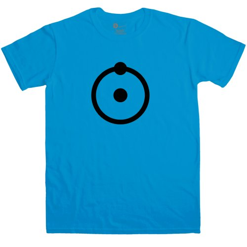 Manhattan Costume Dr (Mens Superhero T Shirt - Manhattan Atom - Sapphire -)
