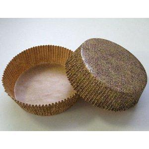 Novacart Baking Cup 3-1/2'' Bottom Diameter x 1-3/16'' High - 1 Pack