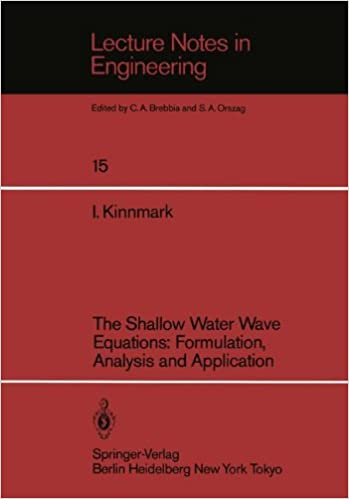 The Shallow Water Wave Equations: Formulation, Analysis and Application (Lecture Notes in Engineering)