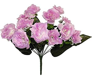72 Open Roses MANY COLORS Centerpieces Bridal Wedding Bouquets Silk Flowers