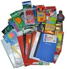 Ultimate Back To School Supply Pack Bundle - Pencils, Crayons, Trapper Keepers, Binder, Highlighters, Notebooks, Scissors, Glue, Folders, Rulers, Pens, Staples, Sharpener and (School Package)