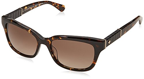 Kate Spade New York Womens Johanna 2/S Dark Havana/Brown Gradient One Size One - Sale Spade Sunglasses Kate