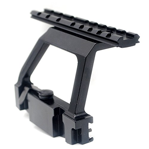 Tactical A-K 47 Side Scope Mount for 20mm Picatinny Weaver Rail