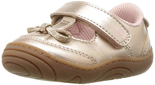 Stride Rite Girls' SR-Caroline Sneaker, Rose, 4 M US Toddler