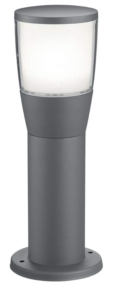 7 W Antracita 12,50 x 12,50 x 100,00 cm Trio Lighting Shannon Poste LED Integriert