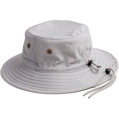 Sloggers -  Classic Cotton Hat with Wind Lanyard Rated UPF 50+ Maximum Sun Protection