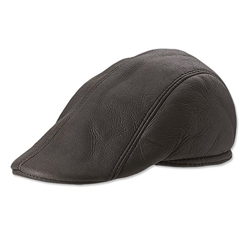 Orvis Men's Shearling-Lined Ivy Cap, Brown, Xx Large