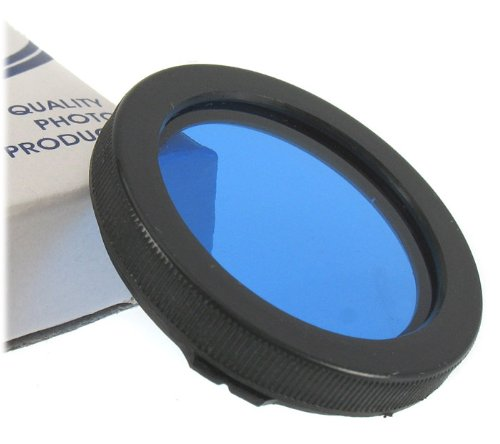 NEW Blue Filter with Bay 1 mount for Rollei, Yashica TLR cameras