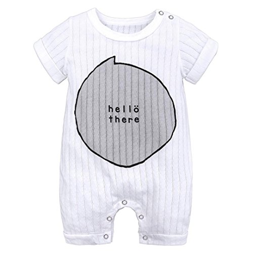GoodLock Baby Boys Girls Rompers Newborn Toddler Infant Stri