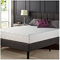 Spa Sensations W-PFM-1200T Black Label 12 Memory Foam Mattress, Queen Size, White Color