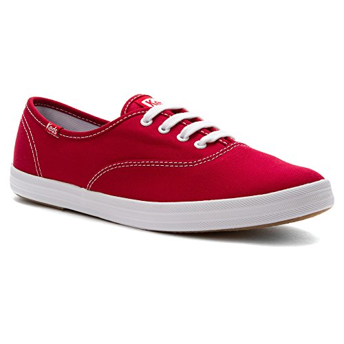Keds Women's Ace Leather Fashion Sneaker Red