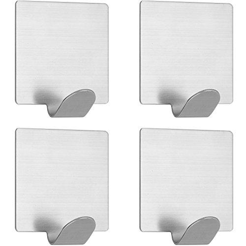 Towel Hooks Wall Hooks Coat Hooks Heavy Duty Stainless Steel Adhesive Wall -