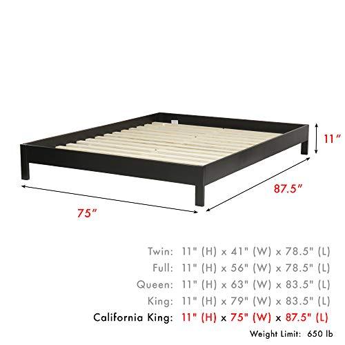 home, kitchen, furniture, bedroom furniture, beds, frames, bases,  beds 5 image Leggett & Platt Murray Complete Wood Platform Bed with deals