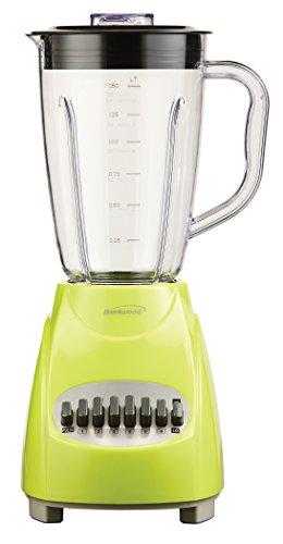 Brentwood JB-220G 12-Speed Blender, 1.5-Liter, Lime Green