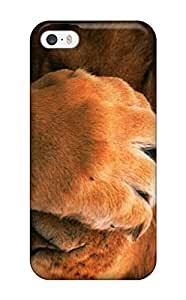 Premium Lions Of Animals For Desktop Heavy-duty Protection Case For Iphone 5/5s