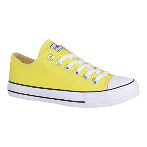 Elara - Sneaker Donna Yellow Basic