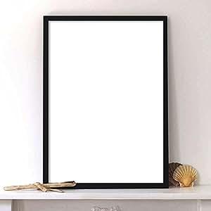 lab no 4 pu material black poster frame matte. Black Bedroom Furniture Sets. Home Design Ideas