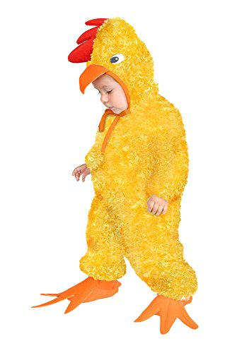 (Charades Little Chick Baby/Toddler Costume, Yellow,)