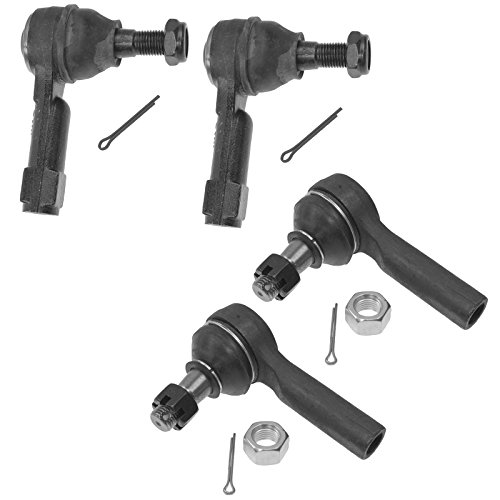 Nissan Xterra 4 Piece (Front Inner & Outer Tie Rod End LH & RH 4 Piece Kit for Nissan Xterra Frontier)