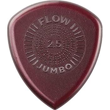 3pk 2.0mm Dunlop 547P2.0 Flow Jumbo Grip Guitar Picks