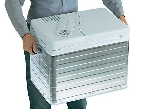 Mobicool Q40 AC/DC - Tragbare Elektrische Alu-Kühlbox, 39 Liter, 12 V und 230 V für Auto, Lkw, Boot, Reisemobil und…