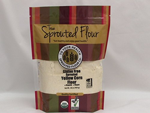5lb. Organic, Sprouted Yellow Corn Flour by To Your Health Sprouted Flour Co.