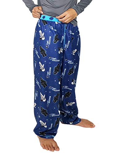 LEGO Star Wars Boy's Flannel Lounge Pajama Pants (6-7, Blue) ()