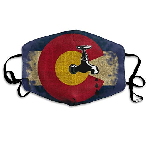 Mouth Mask Earloop Face Masks Comfort Polyester Breathable Mask - Colorado Craft Beer Crafty Adjustable Elastic Band Windproof Respirator, Reusable & Washable, Anti Flu